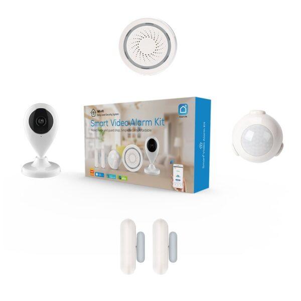kit alarma smart home rehent