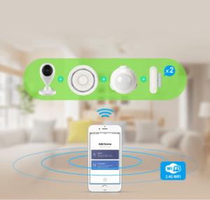 continut kit alarma smart