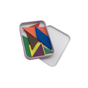 joc de inteligenta tangram 7 piese